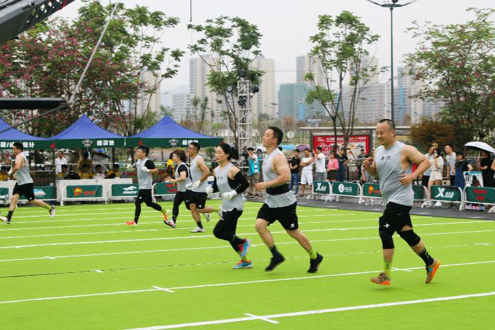 """人均体育场地面积达2平方米 沙坪坝城市15分钟""""健身圈""""基本建成"""