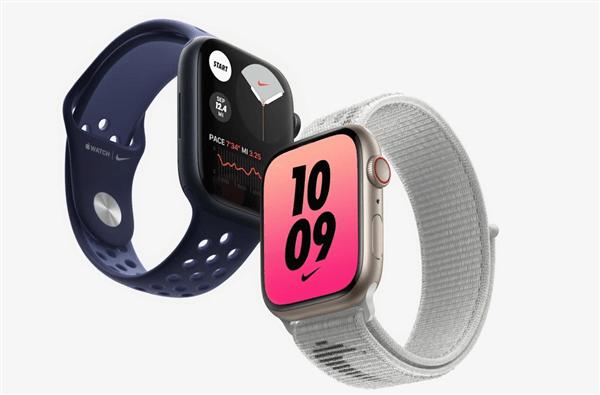 Apple Watch 7系列苹果智能手表发布:7年来首次大改的照片 - 8