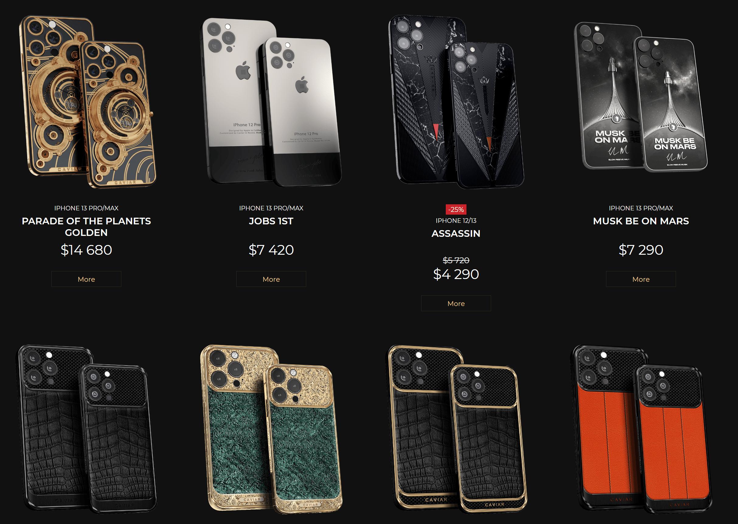 售价28万元!纯金iPhone 13 Pro来了:就是有点重