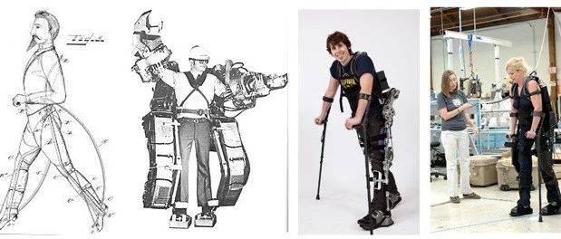 外肌肉机器人演化史
