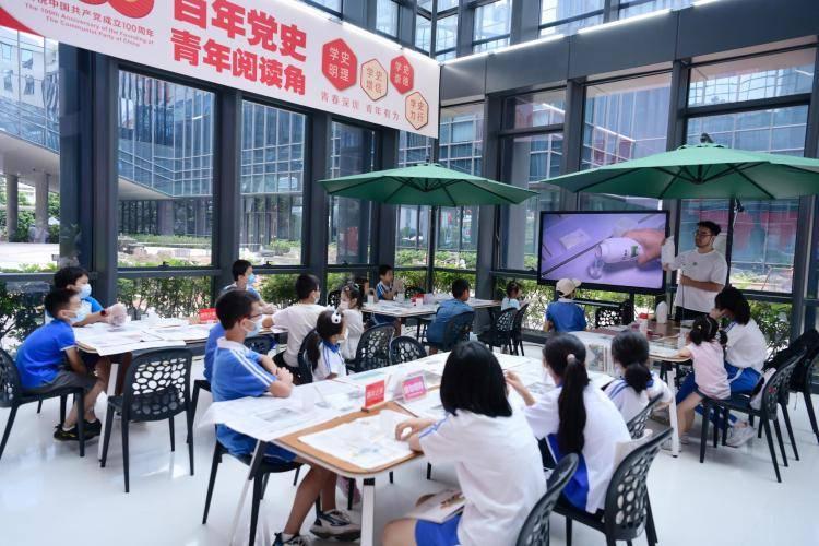 【原创】深圳市青少年活动中心开启梦想标本花园建造工作坊项目